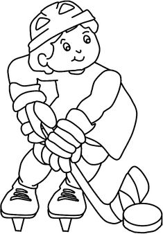 Are you planning to teach your kid some hockey, don't do it straight off by taking him to the field. Try these 10 cool free printable hockey coloring pages