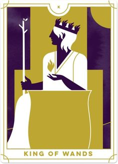 Learn the Suit of Wands Tarot card meanings with Biddy Tarot – the online Tarot resource. Discover what each Tarot card means, upright and reversed. King Of Wands, Le Tarot, Online Tarot, Daily Tarot, Life Symbol, Tarot Card Meanings, Learn Art, Tarot Readers, Instagram And Snapchat
