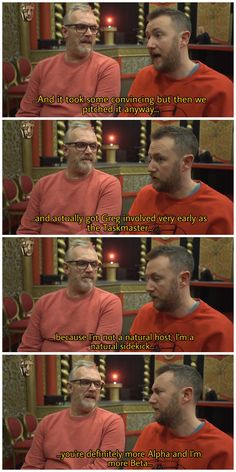 Alpha and Beta Greg Davies, British Comedy, Comedians, Famous People, Arrow, Tv Series, Funny Stuff, Hilarious, Marvel
