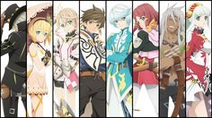 Tales of Zestiria the X Anime Characters Wallpaper