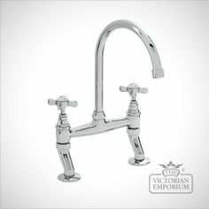 Bridge mixer kitchen tap - great for period kitchens