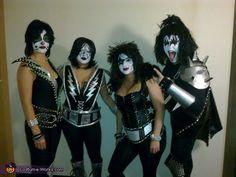 KISS Chicks! - 2012 Halloween Costume Contest