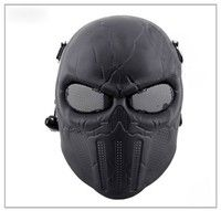 tactical skull face mask military Field scary horror skull mask ear protection shall live field mask for hunting paintball Paintball Mask, Airsoft Mask, Cool Nerf Guns, Skull Face Mask, Ear Protection, Half Face Mask, Movie Props, Fashion Face Mask