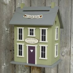 Wedding Card Holder Birdhouse  The Original by DoorCountyWoodworks, $150.00