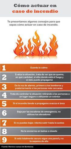 ¿Cómo actuar en caso de incendio?                                                                                                                                                                                 Más
