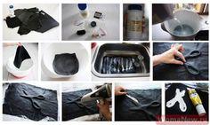 как сделать выпуклый рисунок на коже