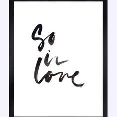 So in love tumblr pintrest quote from AngiesPrints | AngiesPrints
