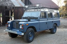 '69 Land Rover Series IIA 109 ... w/ right hand drive truck and converted GM 250ci straight six.