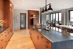 Upscale Urban Dwelling - contemporary - kitchen - grand rapids - Kitchen Choreography