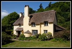 Selworthy, Somerset Somerset, Cottages, Good Times, Cabin, Holidays, House Styles, Building, Home Decor, Cabins