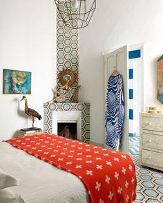 La casa de las baldosas hidráulicas maravillosas en Marraquech · The home of the beautiful cement tiles in Marrakesh