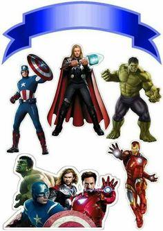 Thor A De Alfabeto Decorativo Super Heroes