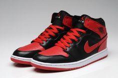 save off ef2b2 14aee Rouge Noir Air Jordan 1 Homme Chaussures au meilleur prix garanti(9gd79r)  Cheap