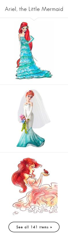 """""""Ariel, the Little Mermaid"""" by najoli ❤ liked on Polyvore featuring home, home decor, wall art, disney, disney home decor, disney wall art, princess wall art, disney princess wall art, resin sculpture and little mermaid home decor"""
