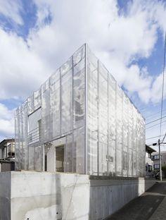 Fumihiko Sano | 'MoyaMoya' House | 2014 | Tokyo, Japan | http://fumihikosano.jp/