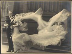 vintage everyday: The wedding of Cyril Ritchard and Madge Elliott, St. Mary's Cathedral, Sydney, 1935