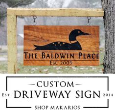 Driveway Signs & Outdoor Address Sign - Makarios Decor