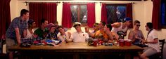 The Frat Last Supper. TFM.