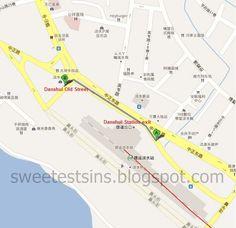 台湾吃喝玩乐 Taiwan Trip May 2012 Day 4: Danshui Old Street, Taipei Main Station and Ximending