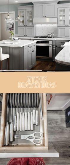 DIY Kitchen Drawer Ideas #diykitchen #kitchendrawers Drawer Inspiration, Drawer Ideas, Drawer Design, Kitchen Drawers, Diy Kitchen, Cool Kitchens, Future House, Kitchen Remodel, Diy Home Decor