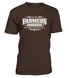 Farmers Daughter Funny  #gift #idea #shirt #image #funny #job #new #best #top #hot #engineer