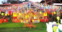 Encontre 9 Modelos de Decoração de Aniversário Tema Festa Junina e inspire-se para realizar a decoração da festa de aniversário com muito bom gosto.