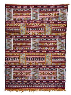 Moroccan Zemmour Wool Kilim