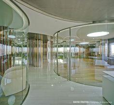 Clavel Arquitectos || Oficinas Baraka en la Torre Hispania (Murcia, España)