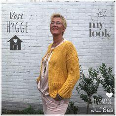 Vest Hygge handmade by juf Sas met gratis patroon Julia zeeman