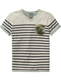 Shop the latest boy's clothing and apparel from the official Scotch Shrunk webstore. Little Boy Fashion, Kids Fashion Boy, Linen Tshirts, T Shirts, Scotch Shrunk, Scotch Soda, Boys Closet, Kids Prints, Printed Tees