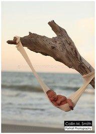 Newborn Beach Baby •♥• BEAUTIFUL setting and photo!!