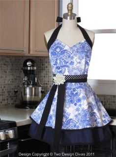 Fancy apron..I could do this!