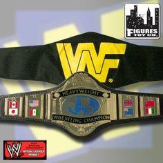 WWE CLASSIC 1986 HEAVYWEIGHT CHAMPIONSHIP DELUXE REPLICA WRESTLING BELT $399.00