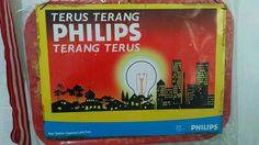 Nampan / baki dengan iklan Philips