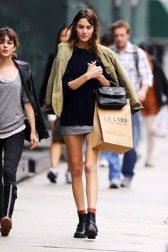 Dear Fashion Diaries: Alexa Chung street style, May 24