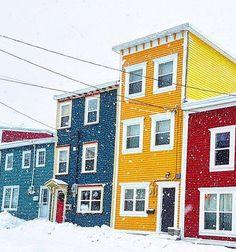 John's on a snowy day Newfoundland Canada, Newfoundland And Labrador, East Coast Canada, Terra Nova, Bay Of Islands, Atlantic Canada, Prince Edward Island, Canadian Rockies, Jelly Beans