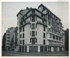 Henri Sauvage | Viviendas Gradin Rue des Amiraux | París, Francia | 1922