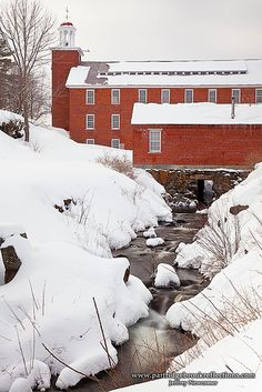 Factory Snows - Harrisville, New Hampshire