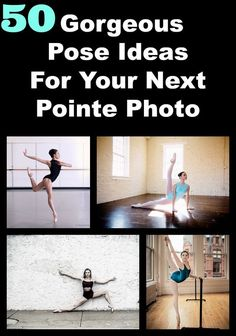 Gorgeous pose ideas for your next pointe photo from Your Daily Dance: