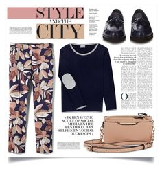 """STYLE CITY"" by virgamaleva ❤ liked on Polyvore featuring Orwell + Austen, Banana Republic and Tod's"
