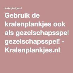Gebruik de kralenplankjes ook als gezelschapsspel! - Kralenplankjes.nl