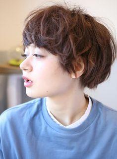 マッシュ×こなれ感ショート(髪型ショートヘア)