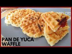 PANDEYUCA WAFFLE O AREPA-WAFFLE DE YUCA| La opción de desayuno o merienda que encanta a Todos! - YouTube Chefs, Achiote, Colombian Food, Tostadas, Plant Based, Waffles, Bread, Tortillas, Breakfast