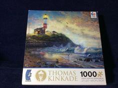 LIGHT OF.HOPE 1000 PIECE JIGSAW PUZZLE BY THOMAS KINKADE #Ceaco