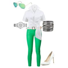A fashion look from March 2015 featuring Michael Kors tops, MICHAEL Michael Kors pants and River Island pumps. Browse and shop related looks.