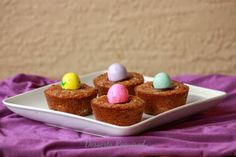 Gooey Easter Brownie Cups - Desserts Required