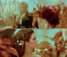 Labyrinth dream. Pretty much how I imagined my wedding would be after seeing this movie as a kid. Lol