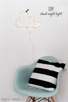 DIY Cloud Night Light