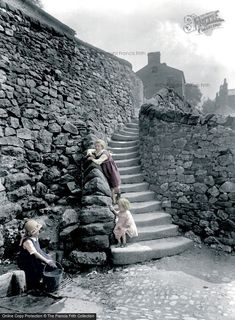 The Francis Frith Collection, Settle, Castlebergh Wells And Steps 1924. Ref. 75792P.  Available to view and purchase at Galleries at www.francisfrith.com/galleries. #thefrancisfrithcollection #frithgalleries