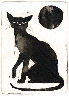 Ink Cat 2 by Myrntai (Taina Koskinen)
